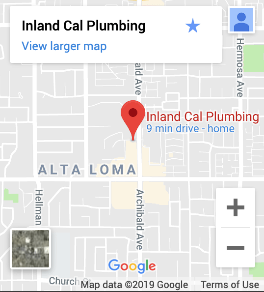 Inland Cal Plumbing on Google Maps